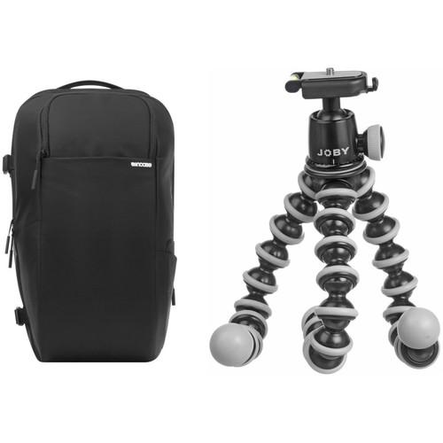 Incase Designs Corp DSLR Pro Pack Camera Backpack with GorillaPod SLR-Zoom Flexible Mini Tripod Kit