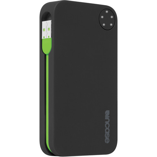 Incase Designs Corp Double Charge Battery Portable Power 5400 (Black/Fluro Green)