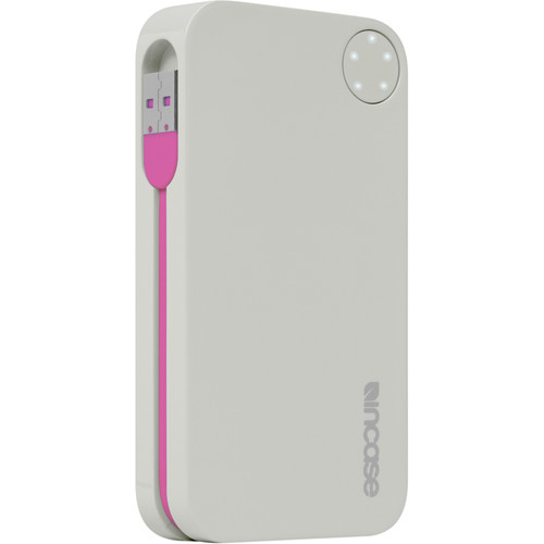 Incase Designs Corp Double Charge Battery Portable Power 5400 (Gray/Magenta)