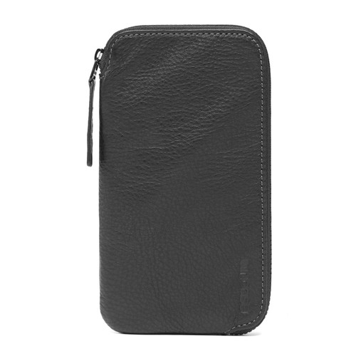 Incase Designs Corp Leather Zip Wallet for iPhone 6/6s/6 Plus/6s Plus (Black)
