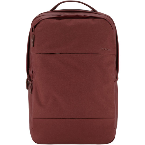 "Incase Designs Corp City Backpack for 17"" MacBook Pro (Deep Red)"