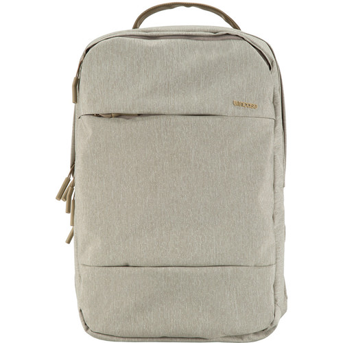 "Incase Designs Corp City Backpack for 17"" MacBook Pro (Heather Khaki)"