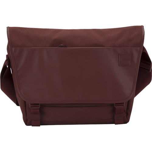 Incase Designs Corp Compass Messenger Bag (Deep Red)