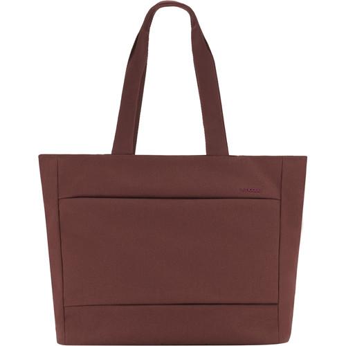 Incase Designs Corp City Market Tote Bag (Deep Red)