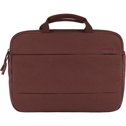 "Incase Designs Corp City Brief Bag for 13"" MacBook Pro (Deep Red)"