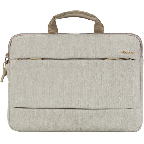 "Incase Designs Corp City Brief Bag for 15"" MacBook Pro (Heather Khaki)"