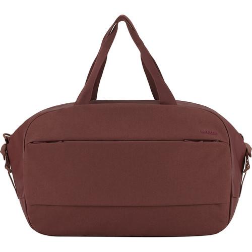 Incase Designs Corp City Duffel Bag (Deep Red)