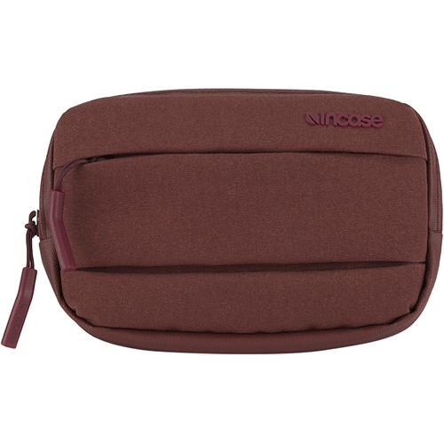 Incase Designs Corp City Accessory Pouch (Deep Red)