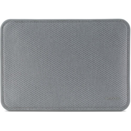"""Incase Designs Corp ICON Sleeve with Diamond Ripstop for 12"""" MacBook (Gray)"""