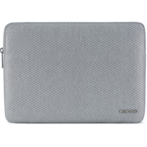 """Incase Designs Corp Slim Sleeve with Diamond Ripstop for 12"""" MacBook (Cool Gray)"""