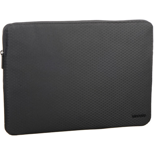 "Incase Designs Corp Slim Sleeve with Diamond Ripstop for 15"" MacBook Pro (Black)"