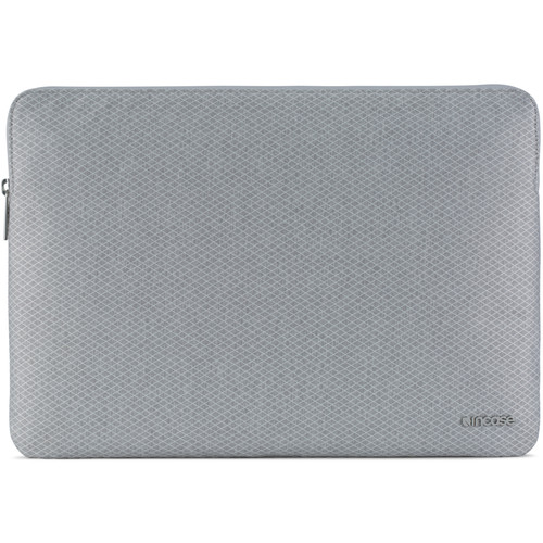 "Incase Designs Corp Slim Sleeve with Diamond Ripstop for 15"" MacBook Pro (Cool Gray)"