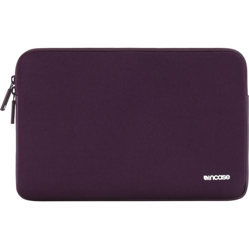 """Incase Designs Corp Classic Sleeve for 12"""" MacBooks (Aubergine)"""