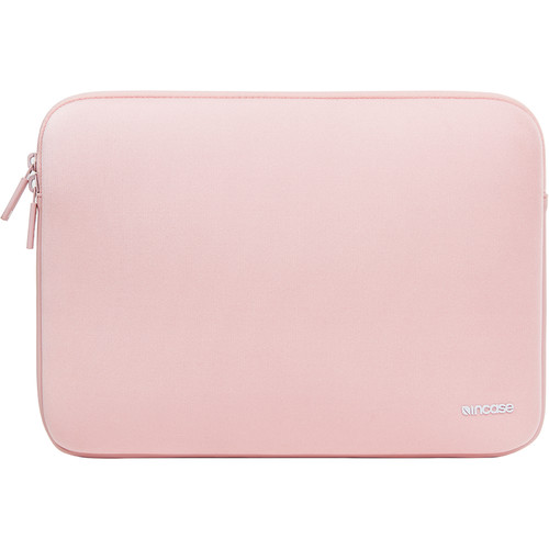 "Incase Designs Corp Classic Sleeve for 12"" MacBooks (Rose Quartz)"