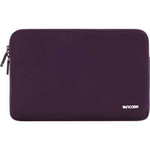 """Incase Designs Corp Classic Sleeve for 13"""" MacBook Air/Pro/Pro Retina (Aubergine)"""