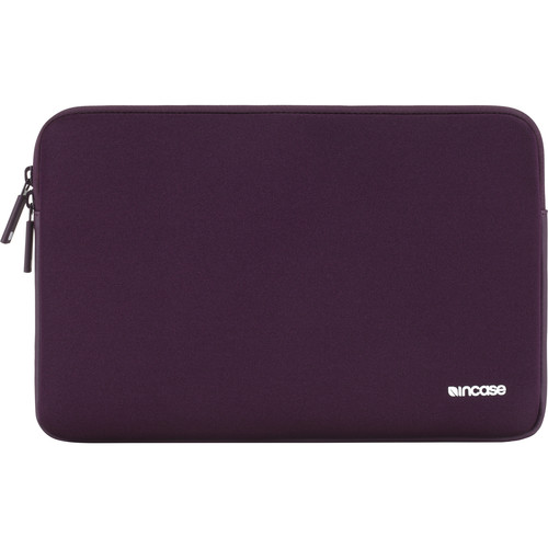 "Incase Designs Corp Classic Sleeve for Select 15"" MacBook Pro Notebooks (Aubergine, Ariaprene)"