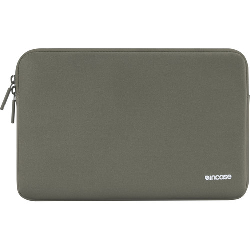 """Incase Designs Corp Classic Sleeve for Select 15"""" MacBook Pro Notebooks (Anthracite, Ariaprene)"""