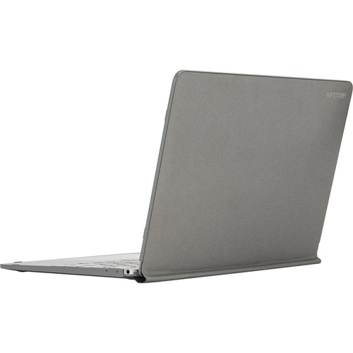 """Incase Designs Corp Snap Jacket for 12"""" MacBook (Charcoal)"""