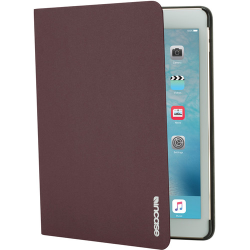 "Incase Designs Corp Book Jacket Slim Case for iPad Pro 9.7"" (Deep Red)"