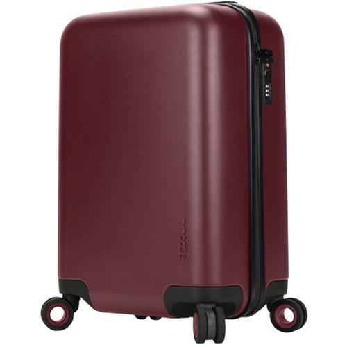 Incase Designs Corp Novi 4 Wheel Hubless Travel Roller 22 (Deep Red)