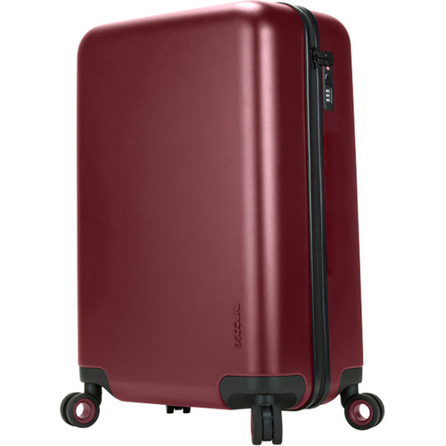 Incase Designs Corp Novi 4 Wheel Hubless Travel Roller 26 (Deep Red)
