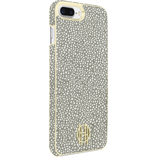Incipio House of Harlow 1960 Snap Case for iPhone 7 Plus (Gray Galuchat/Gold Metallic)