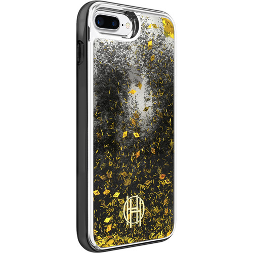 Incipio House of Harlow 1960 LiqGlitter Case for iPhone 7 Plus (Clear/Black/Gold Foil)