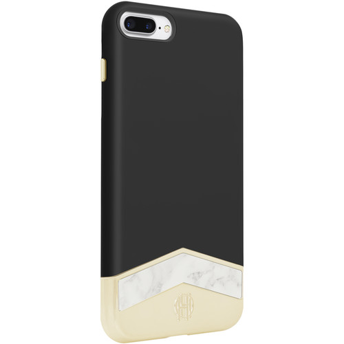 Incipio House of Harlow 1960 Slider Case for iPhone 7 Plus (Black/White Marble)