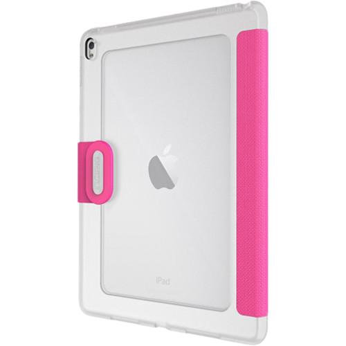 """Incipio Clarion Shock Absorbing Translucent Folio for iPad Pro 9.7"""" (Pink)"""