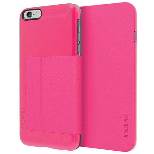 Incipio Highland Folio Case for iPhone 6 Plus/6s Plus (Pink)