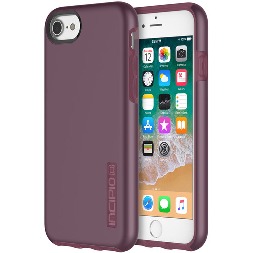 Incipio DualPro Case for iPhone 7/8 (Iridescent Merlot)