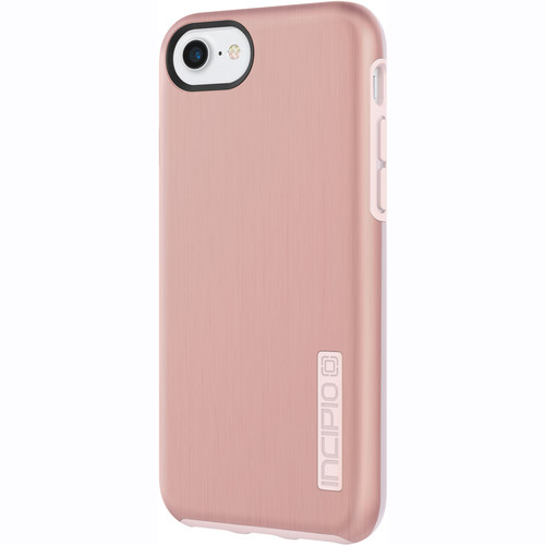 Incipio DualPro SHINE Case for iPhone 7 (Rose Gold/Blush Pink)