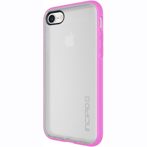 Incipio Octane Case for iPhone 7 (Frost/Neon Pink)