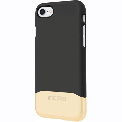 Incipio Edge Chrome Case for iPhone 7 (Black/Gold)