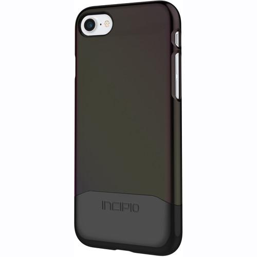 Incipio Edge Chrome Case for iPhone 7 (Iridescent Black Oil Slick/Chrome Black)