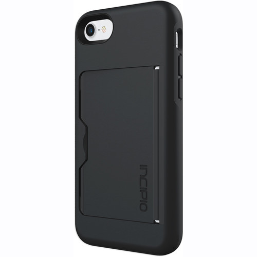 Incipio STOWAWAY Case for iPhone 7 (Black)