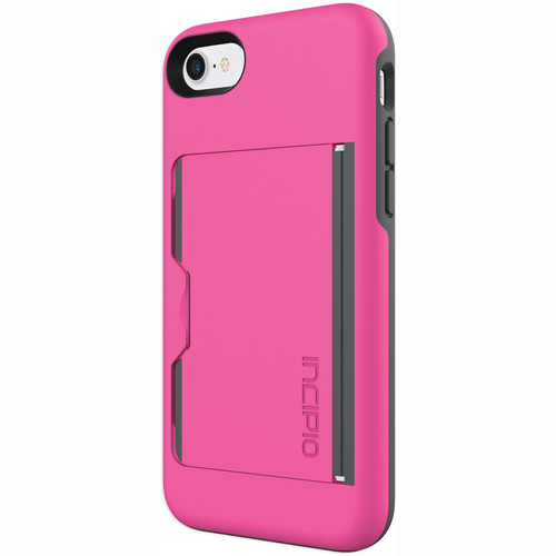 Incipio STOWAWAY Case for iPhone 7 (Pink/Charcoal)
