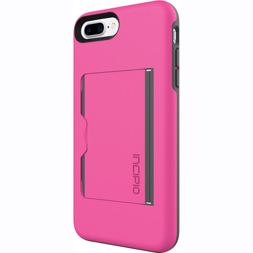 Incipio STOWAWAY Case for iPhone 7 Plus (Pink/Charcoal)