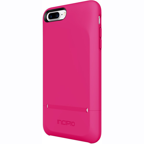 Incipio STASHBACK Credit Card Case for iPhone 7 Plus (Berry Pink)