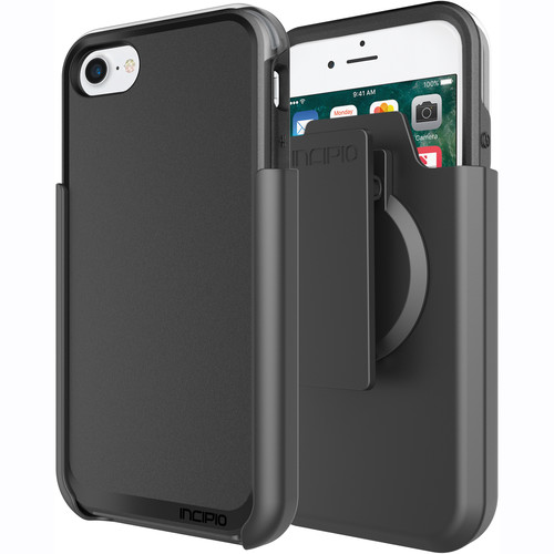 Incipio Incipio Performance Series Ultra Case for iPhone 7 with Holster (Black/Gray)