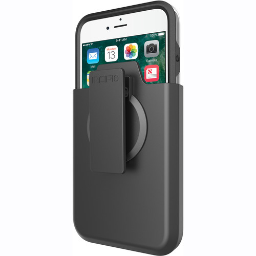 Incipio Incipio Performance Series Ultra Case for iPhone 7 Plus with Holster (Black/Gray)