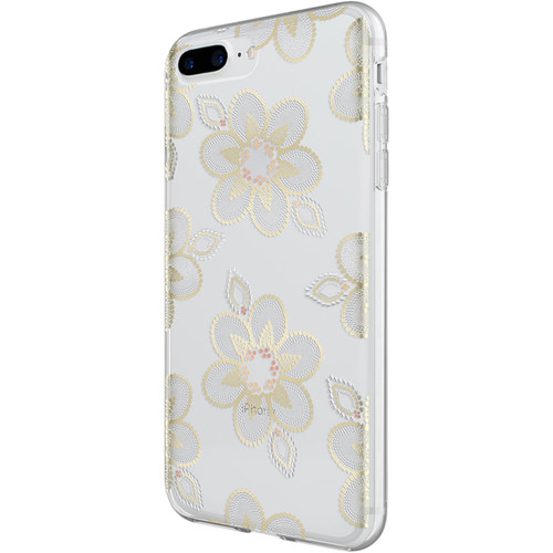 Incipio Design Series Case for iPhone 6 Plus/6s Plus/7 Plus/8 Plus (Beaded Floral)