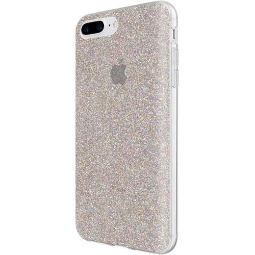 Incipio Design Series Case for iPhone 6 Plus/6s Plus/7 Plus/8 Plus (Midnight Chrome Multi-Glitter)