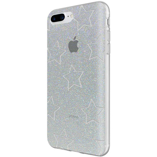 Incipio Design Series Case for iPhone 6 Plus/6s Plus/7 Plus/8 Plus (Glitter Star Cut Out)