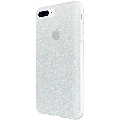 Incipio Design Series Case for iPhone 6 Plus/6s Plus/7 Plus/8 Plus (Iridescent White Glitter)
