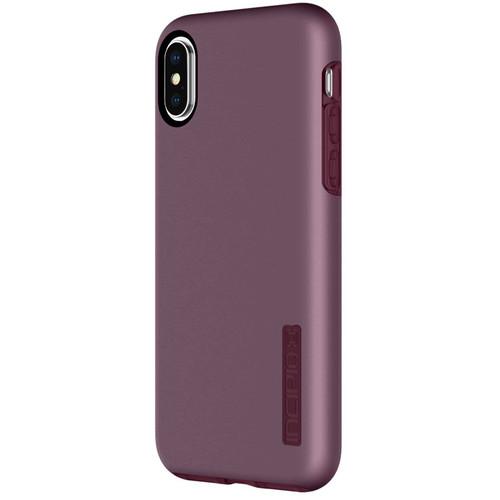 Incipio DualPro Case for iPhone X (Iridescent Merlot)