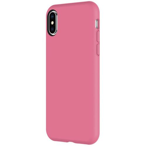 Incipio Siliskin Case for iPhone X (Maroon Berry)