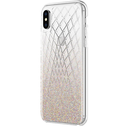 Incipio Design Series Case for iPhone X (Multi-Glitter)