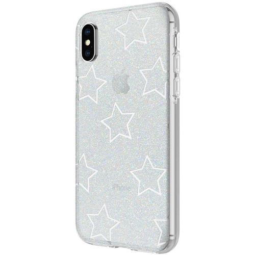 Incipio Design Series Case for iPhone X/Xs (Glitter Star Cut Out)