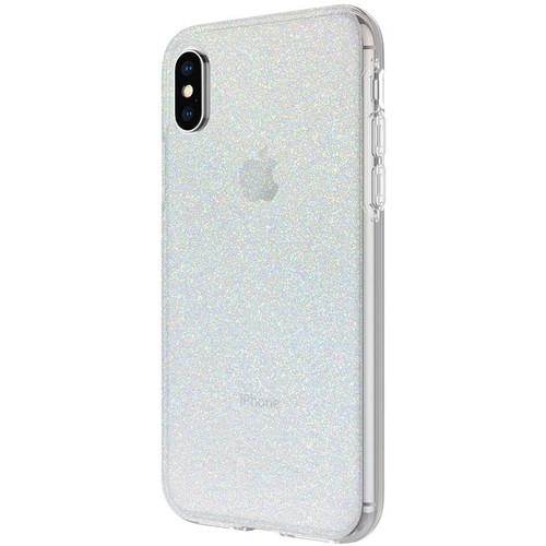 Incipio Design Series Case for iPhone X/Xs (Iridescent White Glitter)